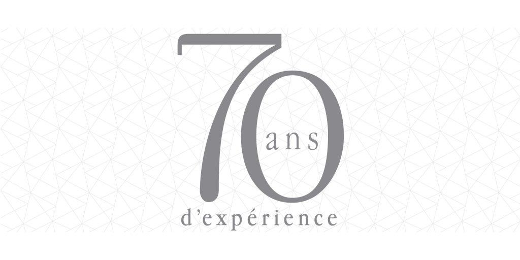 70 ans d'expérience